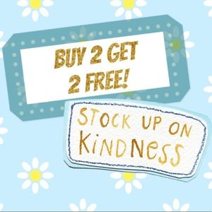 EVERYTHING ON SALE - BUY 2 GET 2 FREE!